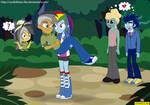 Stranger Than Fan Fiction - Equestria Girls