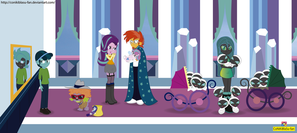 The Times They Are A Changeling - Equestria Girls by CoNiKiBlaSu-fan