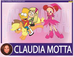 Claudia Motta - Actriz de doblaje by CoNiKiBlaSu-fan
