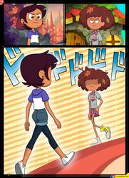 Luz vs Anne (The Owl House vs Amphibia)