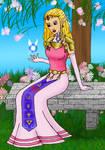 Zelda in the Garden