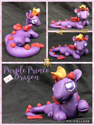 Purple Prince Dragon by EmsDragonOfFire