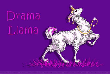 Drama Llama by Sikaris