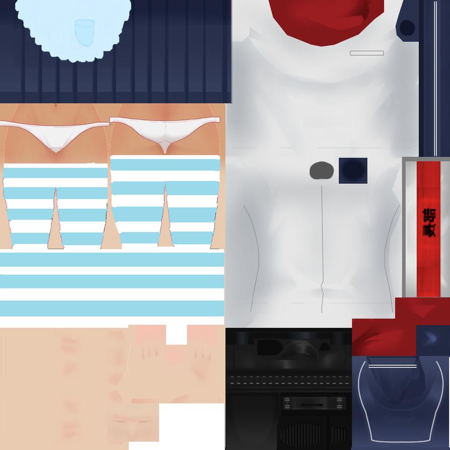 amai odayaka customuniform by teresateka on deviantart. Black Bedroom Furniture Sets. Home Design Ideas