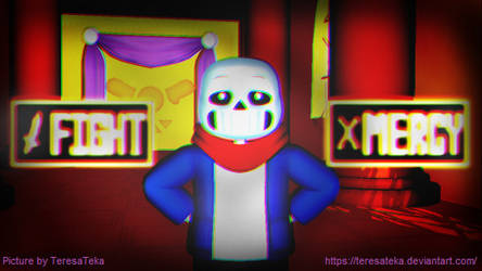 MMD UNDERTALE Fight or Mercy GENOCIDE ROUTE