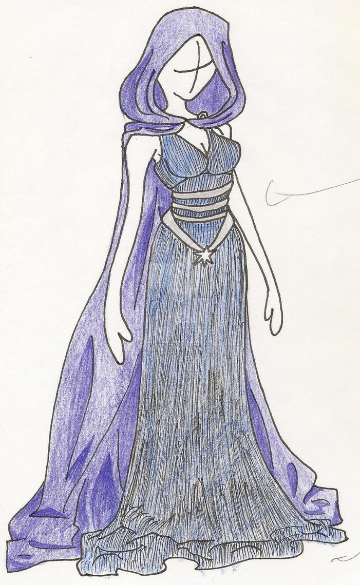 Blue Shroud by MeetMeWithThegods