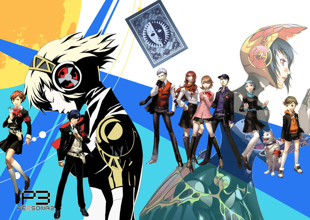 Persona 3 FES by MeetMeWithThegods