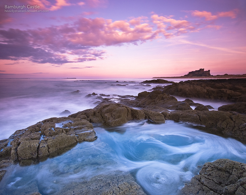 Bamburgh Castle by jamesholephoto