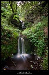 Swinhope Falls by jamesholephoto