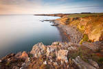 Cullernose Cliffs by jamesholephoto