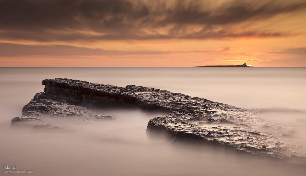 Island by jamesholephoto