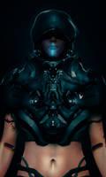 Cyberpunk Police - Blue Suit