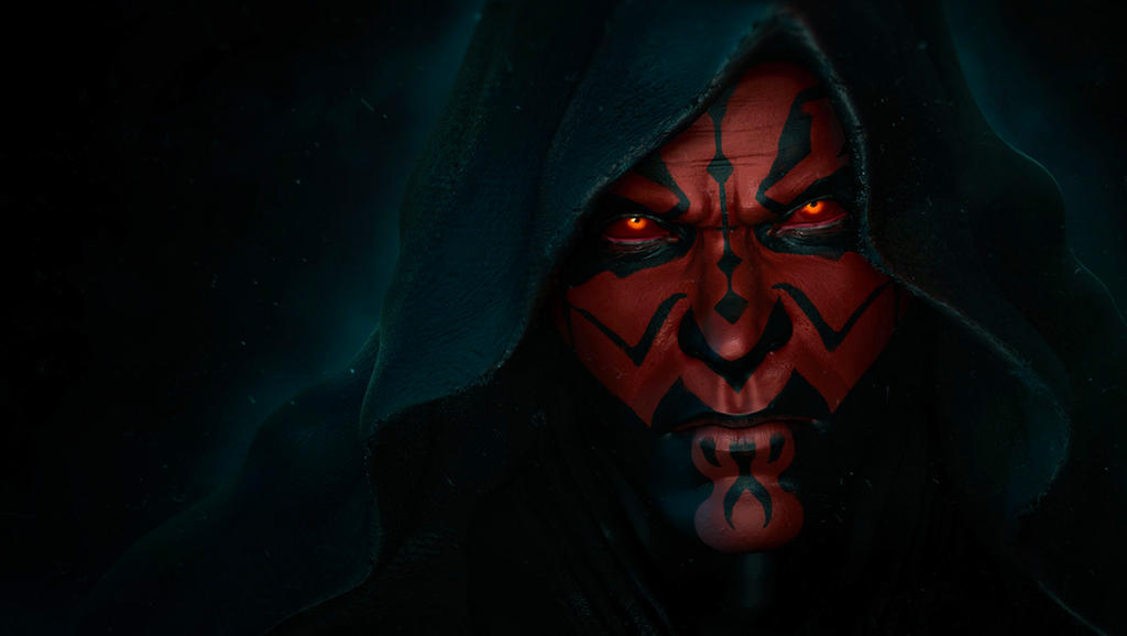 The Sith Lord Darth Maul By Synthesys On Deviantart