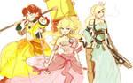 WIP Torn Princesses