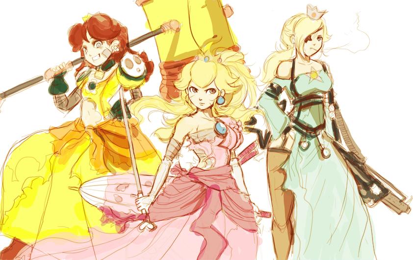 WIP Torn Princesses by Jay-Phenrix