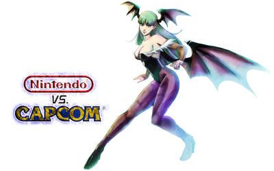 Nintendo vs Capcom - Morrigan by Jay-Phenrix