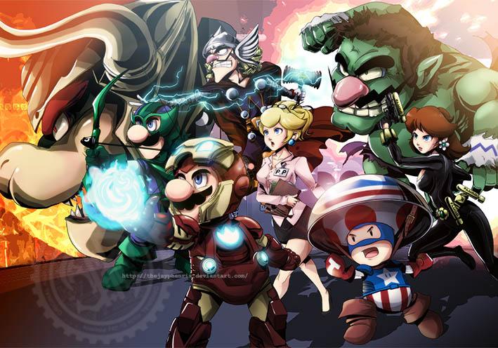 The Mario Avengers