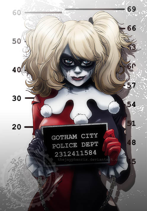 Harley Quinn by TheJayPhenrix