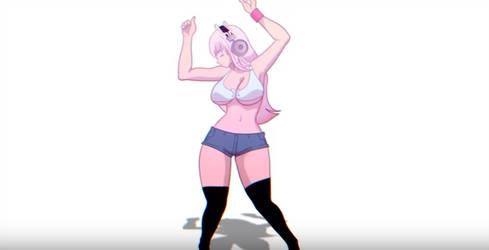 Dancing Sonico - Toon Boom  Quality Test