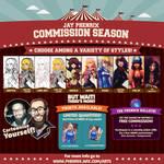 Jay Phenrix - Commission Season 2016