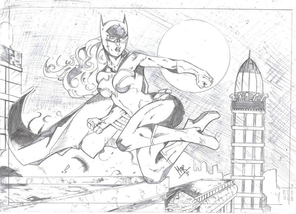 Batgirl by Moy-R