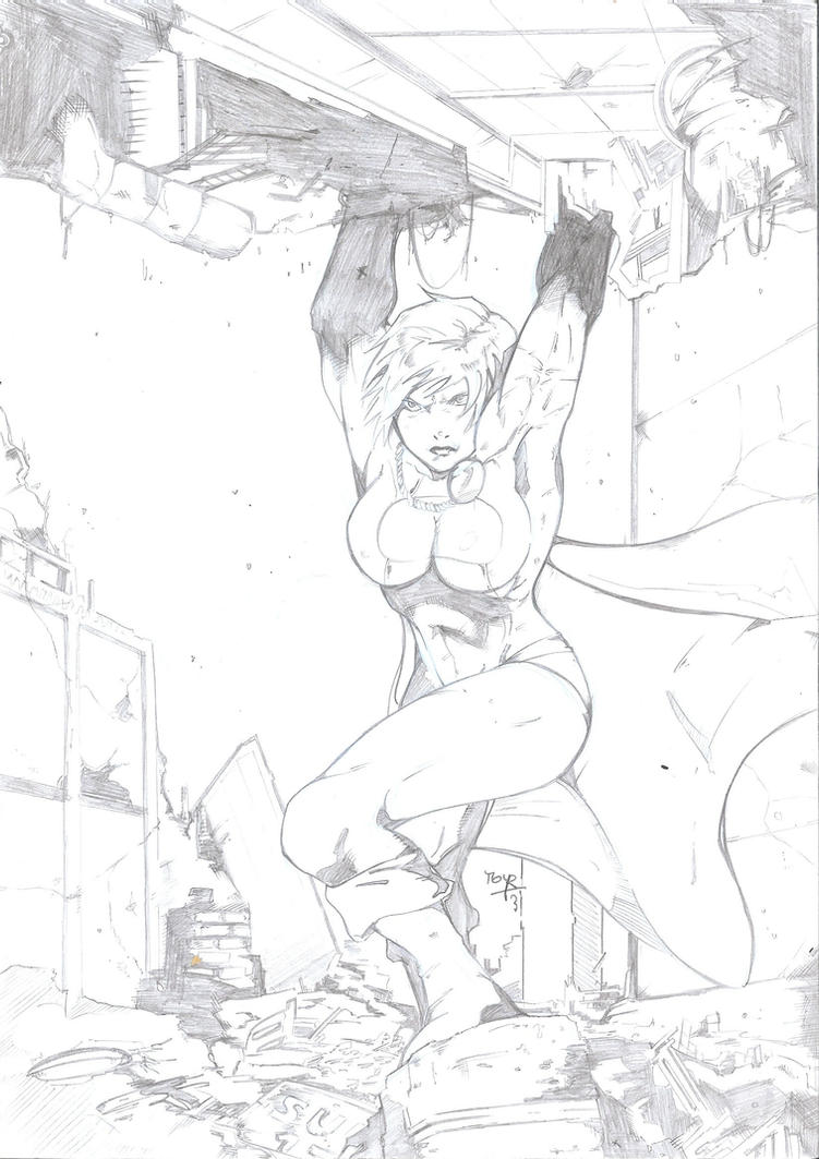 Power Girl by Moy-R