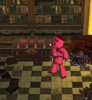 Leila Teddy Bear by Machus-san