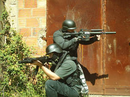 Airsoft in Belas 10th April by CultusSanguine