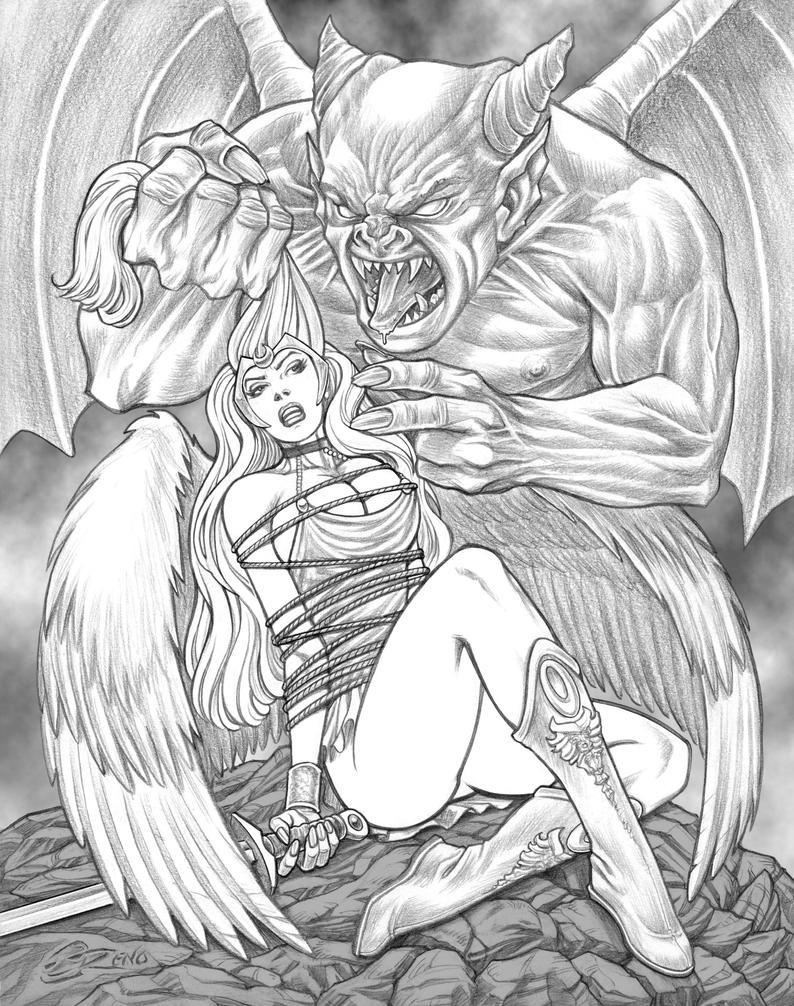 Fallen Archangel by steveoreno
