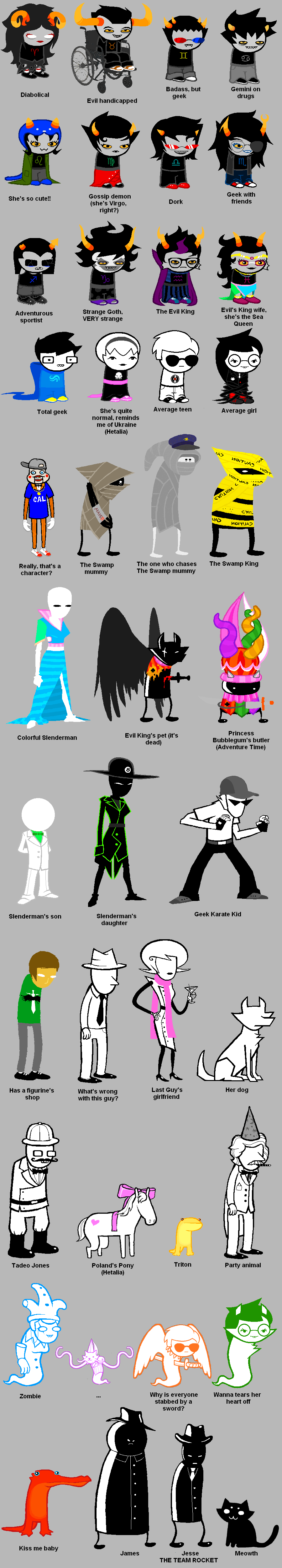 Homestuck according to... my little sister by GGTheOtakuHero
