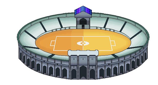 stadium by Andmetalxp