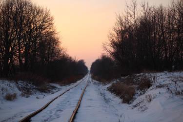 Lonely Iron Sidewalk by CelixDog04