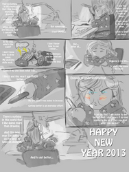 Happy new year Eng by LadyCamafeo