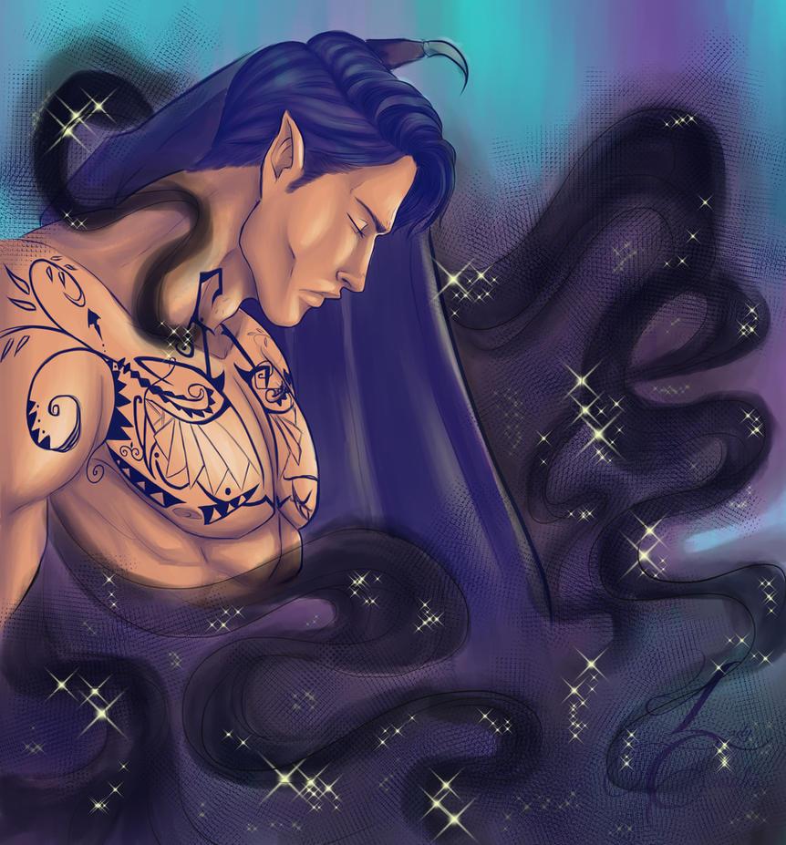 The Dark fallen Prince by LadyCamafeo