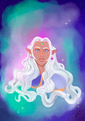 All Hail to Princess Allura by LadyCamafeo