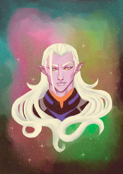 Emperor Lotor of the Galra Empire