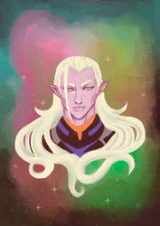 Emperor Lotor of the Galra Empire by LadyCamafeo