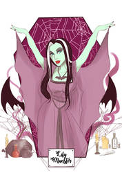 HorrorLadies: Lilly Munster
