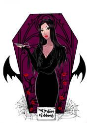 Horror Ladies: Morticia Addams