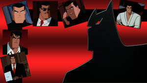 Animated Batman wallpaper