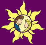 Tangled Sun - Darker Purple