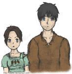 Arya and Gendry at Acorn Hall