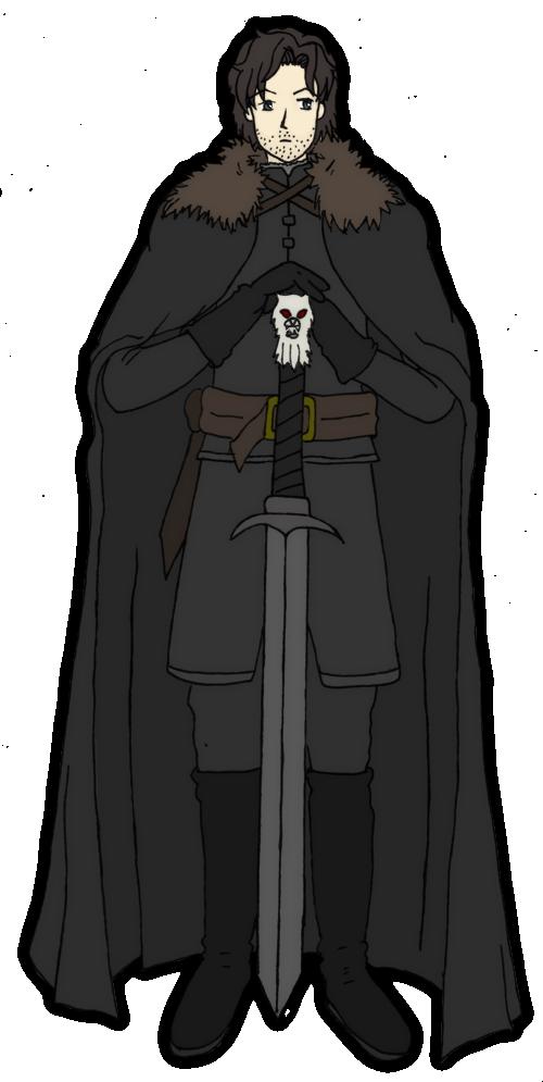 Jon Snow with Longclaw