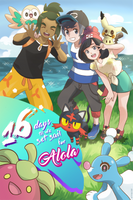 Pokemon Sun And Moon Count Day 16 by erineclair