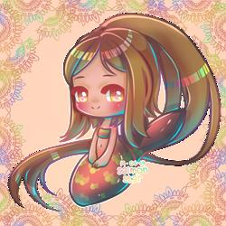 Psychedelic Prism Mermaid
