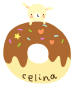 bunny and donut by vanil-a-a-a