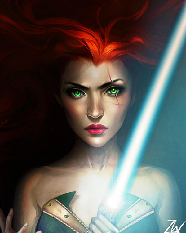 Mara Jade by SelectYourself