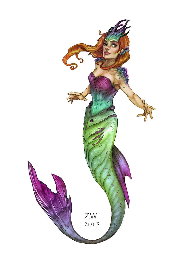 Mermaid WIP by SelectYourself
