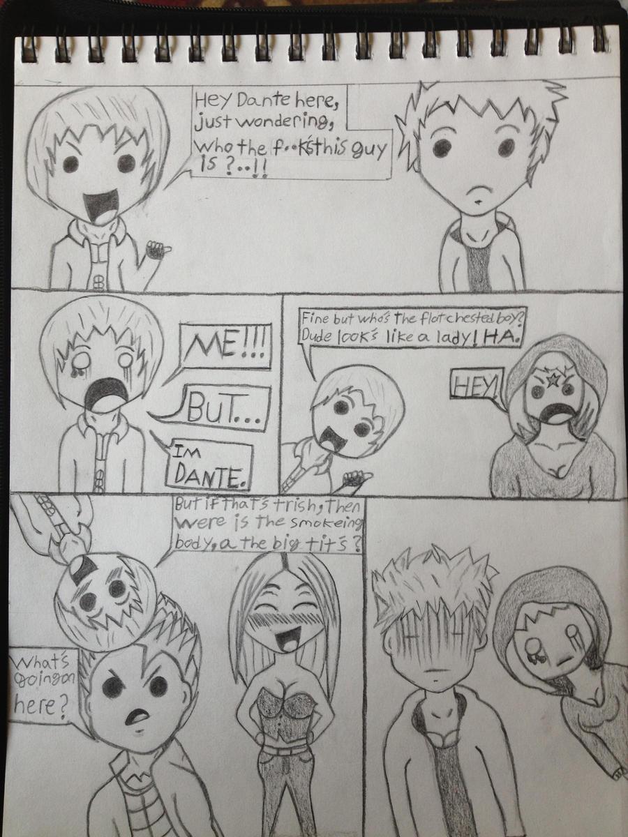 DMC Devil May Cry Chibi Comic Strip By Ynot1915