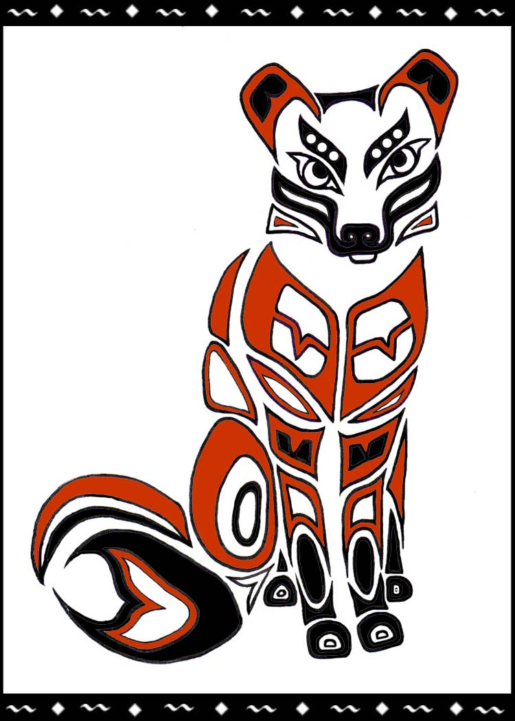 native american wallpaper fox-#13